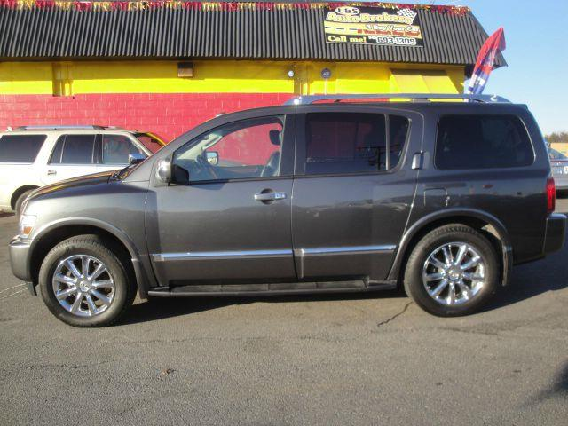 2008 infiniti qx56 awd nav dvd sunroof loaded in fredericksburg va l s auto brokers. Black Bedroom Furniture Sets. Home Design Ideas