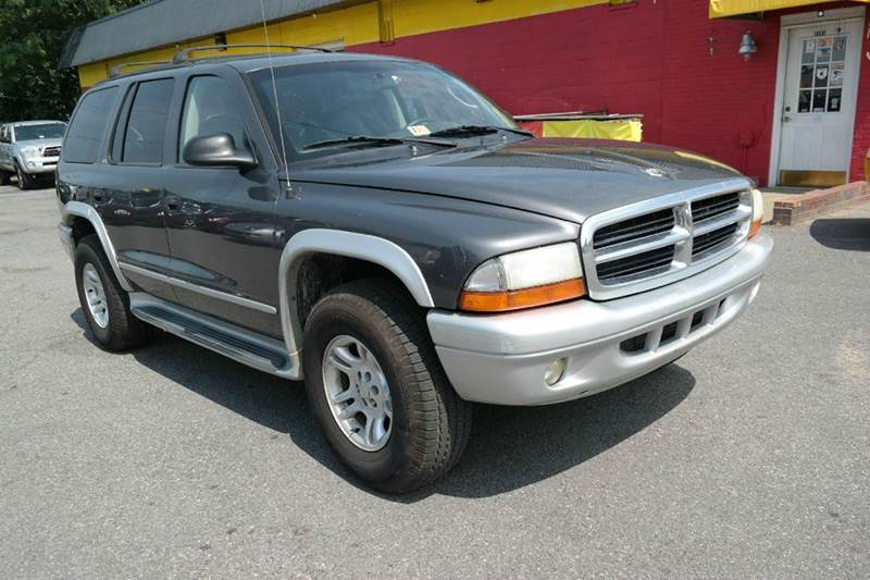 2002 dodge durango slt plus 4wd 3rd row leather in. Black Bedroom Furniture Sets. Home Design Ideas