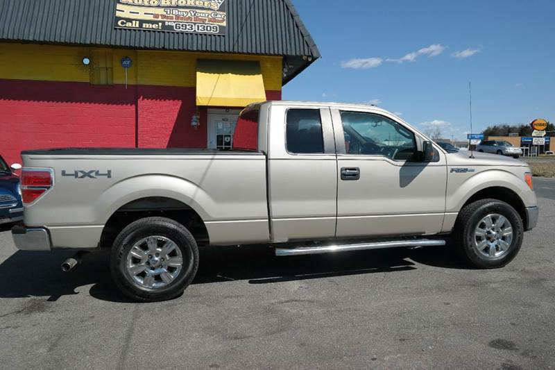 2010 ford f 150 xlt 4x4 4dr supercab in fredericksburg va l s auto brokers. Black Bedroom Furniture Sets. Home Design Ideas