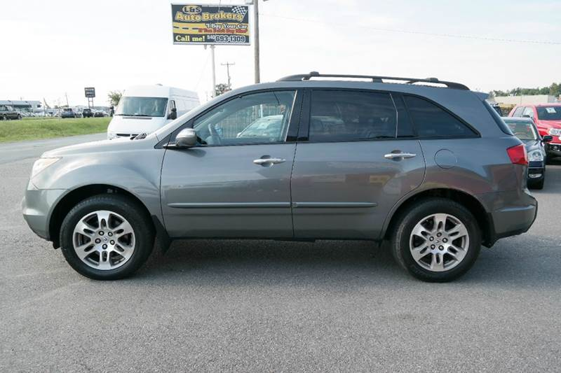 2008 acura mdx sh awd 4dr suv in fredericksburg va l s auto brokers. Black Bedroom Furniture Sets. Home Design Ideas