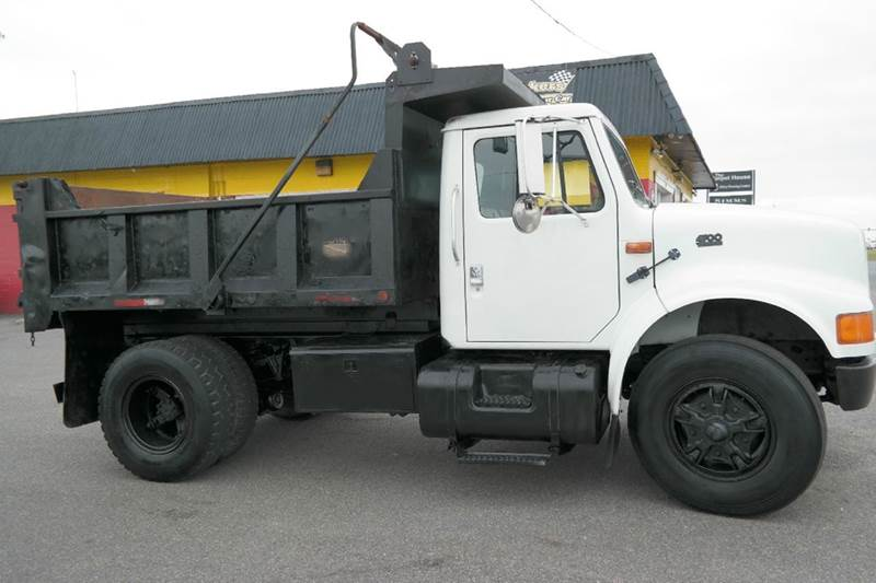 1995 international 4700 dump truck in fredericksburg va l s auto brokers. Black Bedroom Furniture Sets. Home Design Ideas