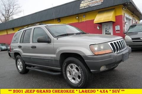 2001 Jeep Grand Cherokee for sale in Fredericksburg, VA