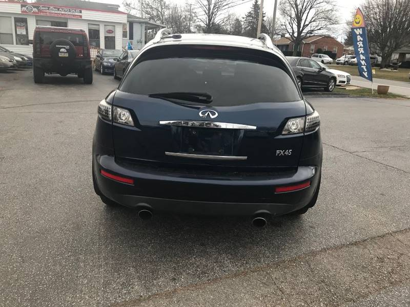 2005 Infiniti Fx45 Awd 4dr Suv In Dover Pa Lauer Brothers Auto Sales