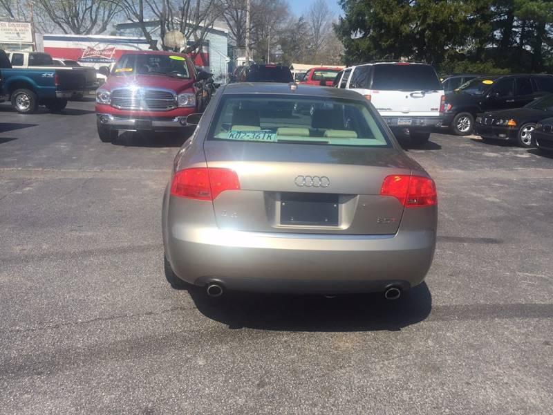 2005 Audi A4 4dr New 2.0T Turbo Sedan - Dover PA