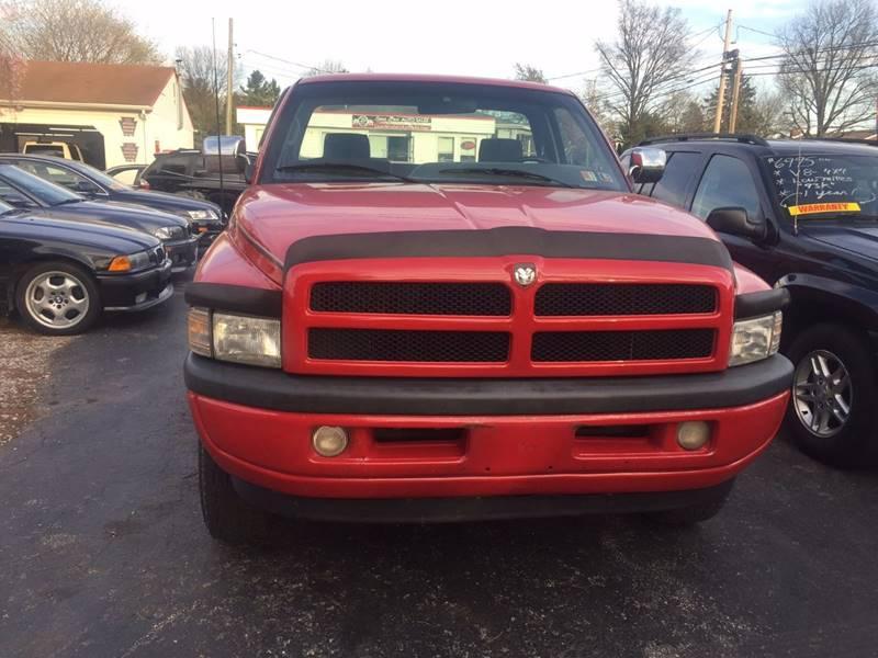 1997 Dodge Ram Pickup 1500 2dr Laramie SLT 4WD Standard Cab SB - Dover PA