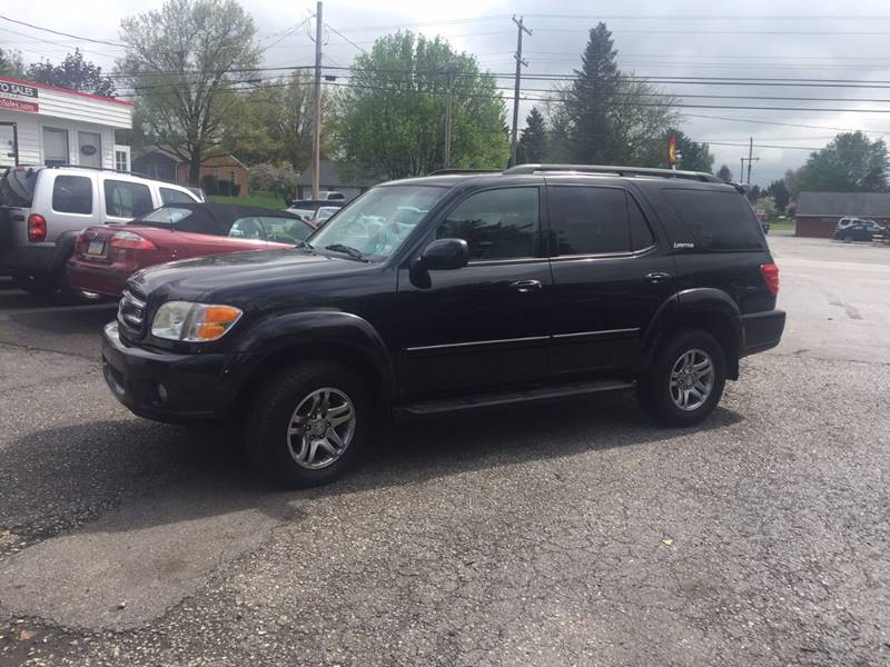 2004 Toyota Sequoia Limited 4WD 4dr SUV - Dover PA