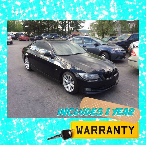 2011 BMW 3 Series AWD 328i xDrive 2dr Coupe SULEV - Dover PA