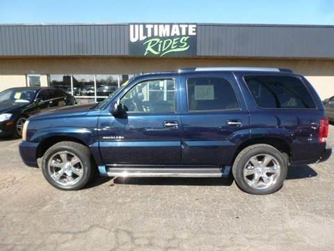 2004 cadillac escalade for sale in wisconsin. Black Bedroom Furniture Sets. Home Design Ideas