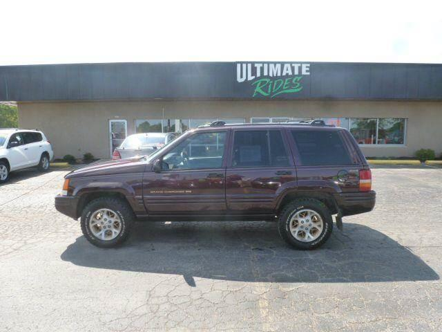 1996 Jeep Grand Cherokee 4dr Limited 4WD SUV   Oshkosh WI