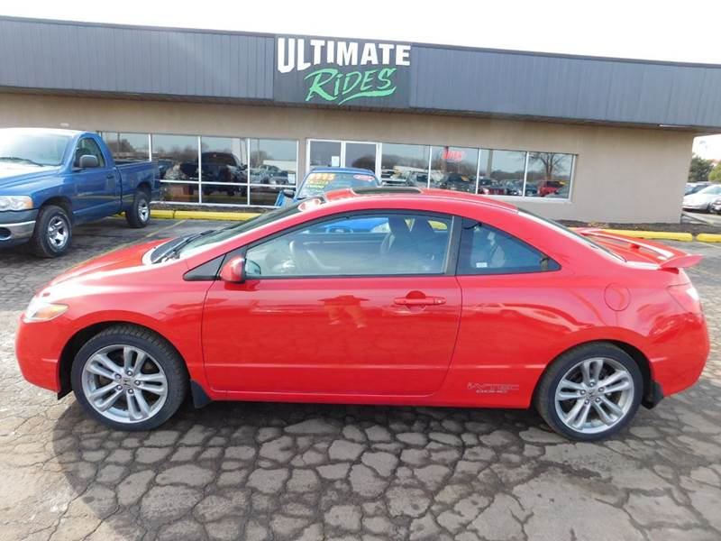 2008 honda civic si 2dr coupe in appleton wi ultimate rides. Black Bedroom Furniture Sets. Home Design Ideas