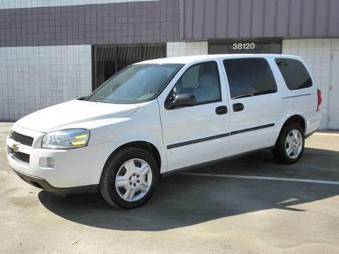 2007 Chevrolet Uplander for sale at Wilkins Automotive Group in Westland MI