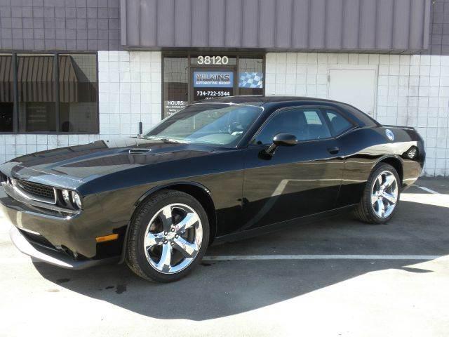 2012 Dodge Challenger for sale at Wilkins Automotive Group in Westland MI