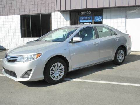 2013 Toyota Camry Hybrid for sale at Wilkins Automotive Group in Westland MI