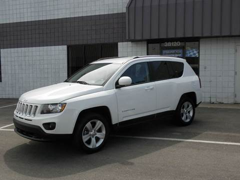 2014 Jeep Compass for sale at Wilkins Automotive Group in Westland MI