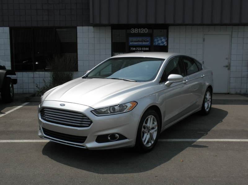 2013 Ford Fusion for sale at Wilkins Automotive Group in Westland MI