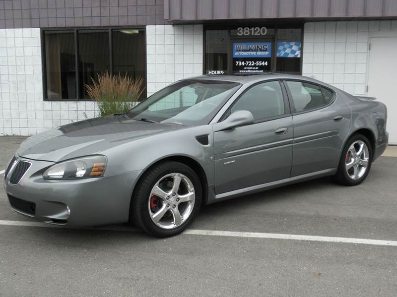 2007 pontiac grand prix gxp 4dr sedan in westland mi wilkins automotive group. Black Bedroom Furniture Sets. Home Design Ideas