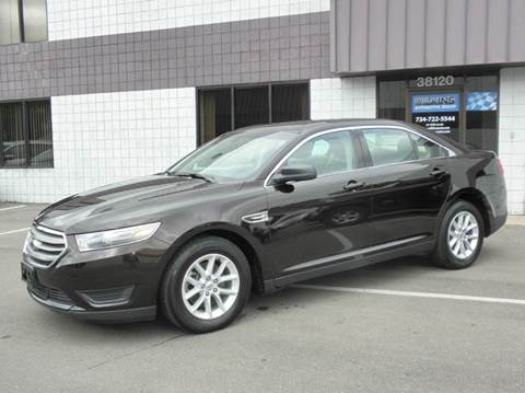 2014 Ford Taurus for sale at Wilkins Automotive Group in Westland MI