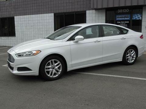 2014 Ford Fusion for sale at Wilkins Automotive Group in Westland MI