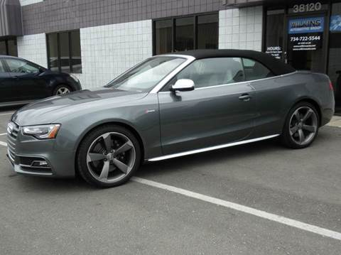 2014 Audi S5 for sale at Wilkins Automotive Group in Westland MI