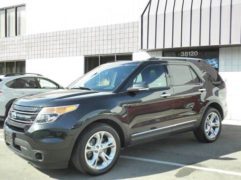 2014 Ford Explorer for sale at Wilkins Automotive Group in Westland MI