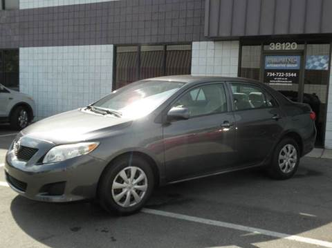 2009 Toyota Corolla for sale at Wilkins Automotive Group in Westland MI
