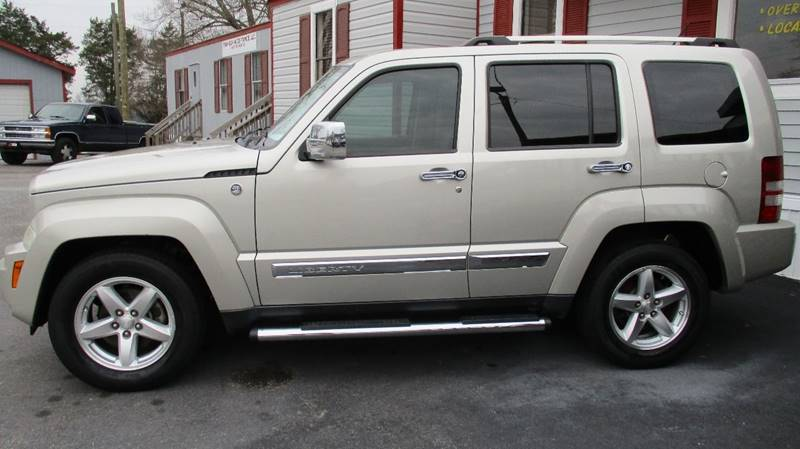 2008 Jeep Liberty 4x4 Limited 4dr SUV   Zebulon NC