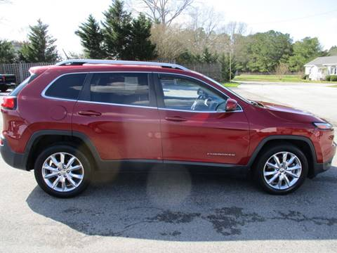 2015 Jeep Cherokee for sale in Zebulon, NC