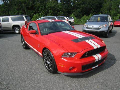 2011 Ford Shelby GT500 for sale at Prestige Motorworks in Concord NC