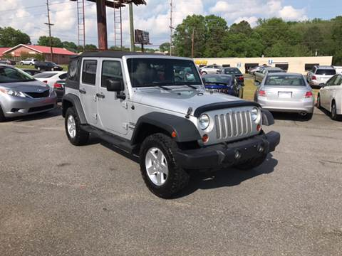 2010 Jeep Wrangler Unlimited for sale at Prestige Motorworks in Concord NC