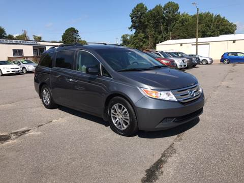 2012 Honda Odyssey for sale at Prestige Motorworks in Concord NC