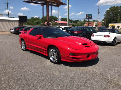 2002 Pontiac Firebird for sale at Prestige Motorworks in Concord NC