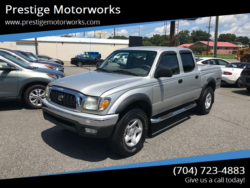 2003 Toyota Tacoma 4dr Double Cab PreRunner Rwd SB   Concord NC