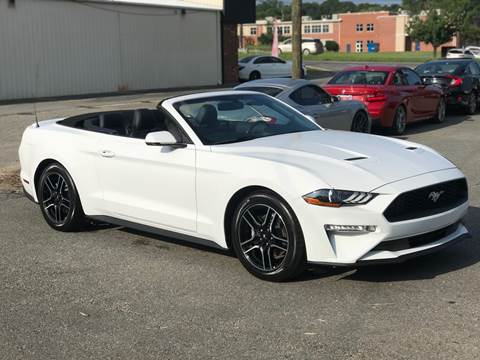 2018 Ford Mustang for sale at Prestige Motorworks in Concord NC