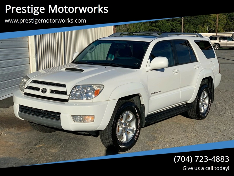 2005 Toyota 4Runner Sport Edition 4WD 4dr SUV   Concord NC