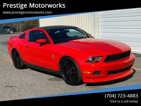 2012 Ford Mustang for sale at Prestige Motorworks in Concord NC
