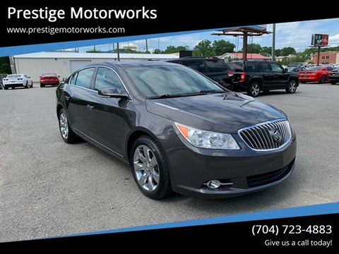 2013 Buick LaCrosse for sale at Prestige Motorworks in Concord NC