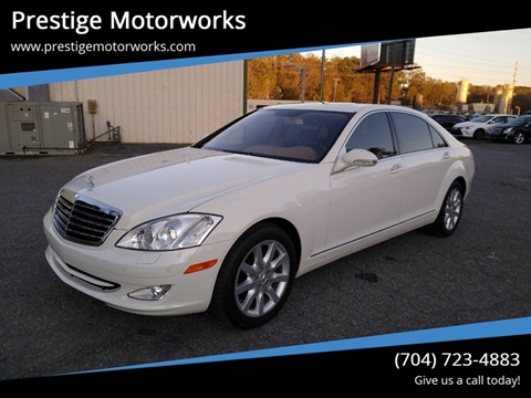 2007 Mercedes-Benz S-Class for sale at Prestige Motorworks in Concord NC
