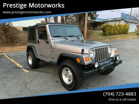 2001 Jeep Wrangler for sale in Concord, NC