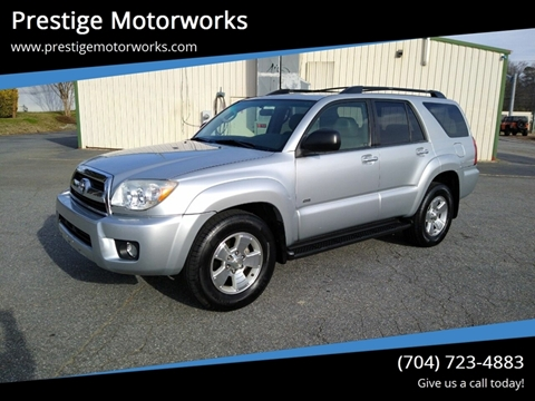 2007 Toyota 4Runner for sale at Prestige Motorworks in Concord NC