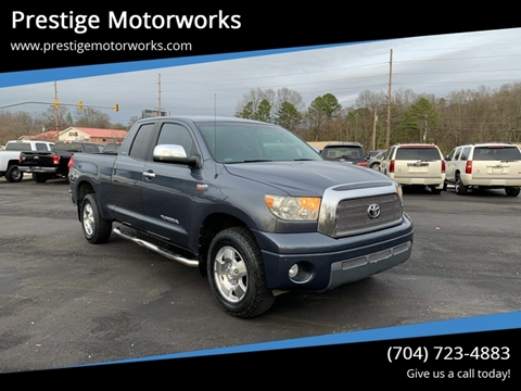 2007 Toyota Tundra for sale at Prestige Motorworks in Concord NC
