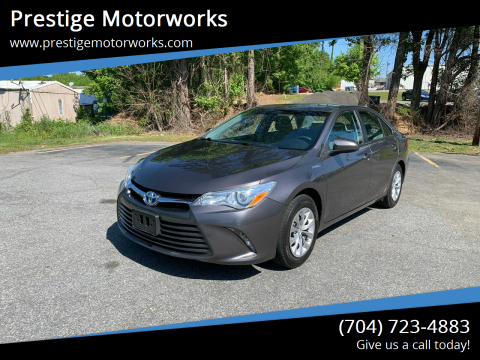 2016 Toyota Camry Hybrid for sale at Prestige Motorworks in Concord NC