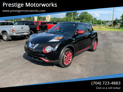 2015 Nissan JUKE for sale at Prestige Motorworks in Concord NC