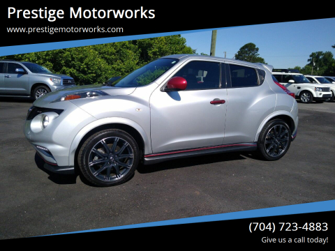 2014 Nissan JUKE for sale at Prestige Motorworks in Concord NC