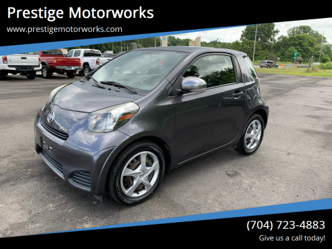 2013 Scion iQ for sale at Prestige Motorworks in Concord NC