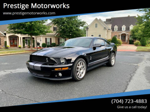 2007 Ford Shelby GT500 for sale at Prestige Motorworks in Concord NC