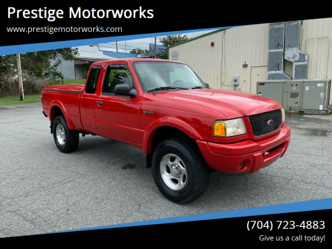 2001 Ford Ranger for sale at Prestige Motorworks in Concord NC