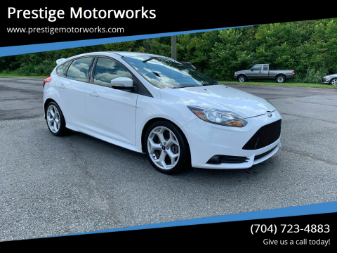 2013 Ford Focus for sale at Prestige Motorworks in Concord NC