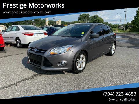 2012 Ford Focus for sale at Prestige Motorworks in Concord NC