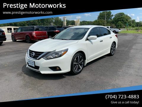 2017 Nissan Altima for sale at Prestige Motorworks in Concord NC