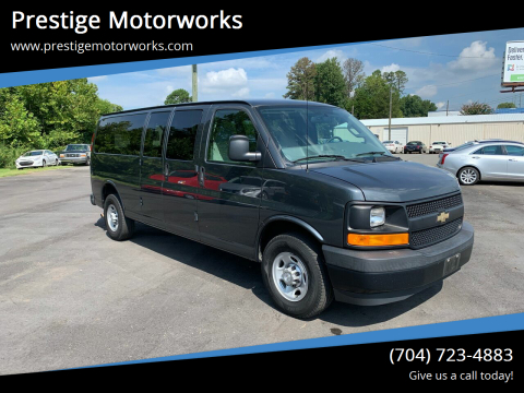 2017 Chevrolet Express Cargo for sale at Prestige Motorworks in Concord NC